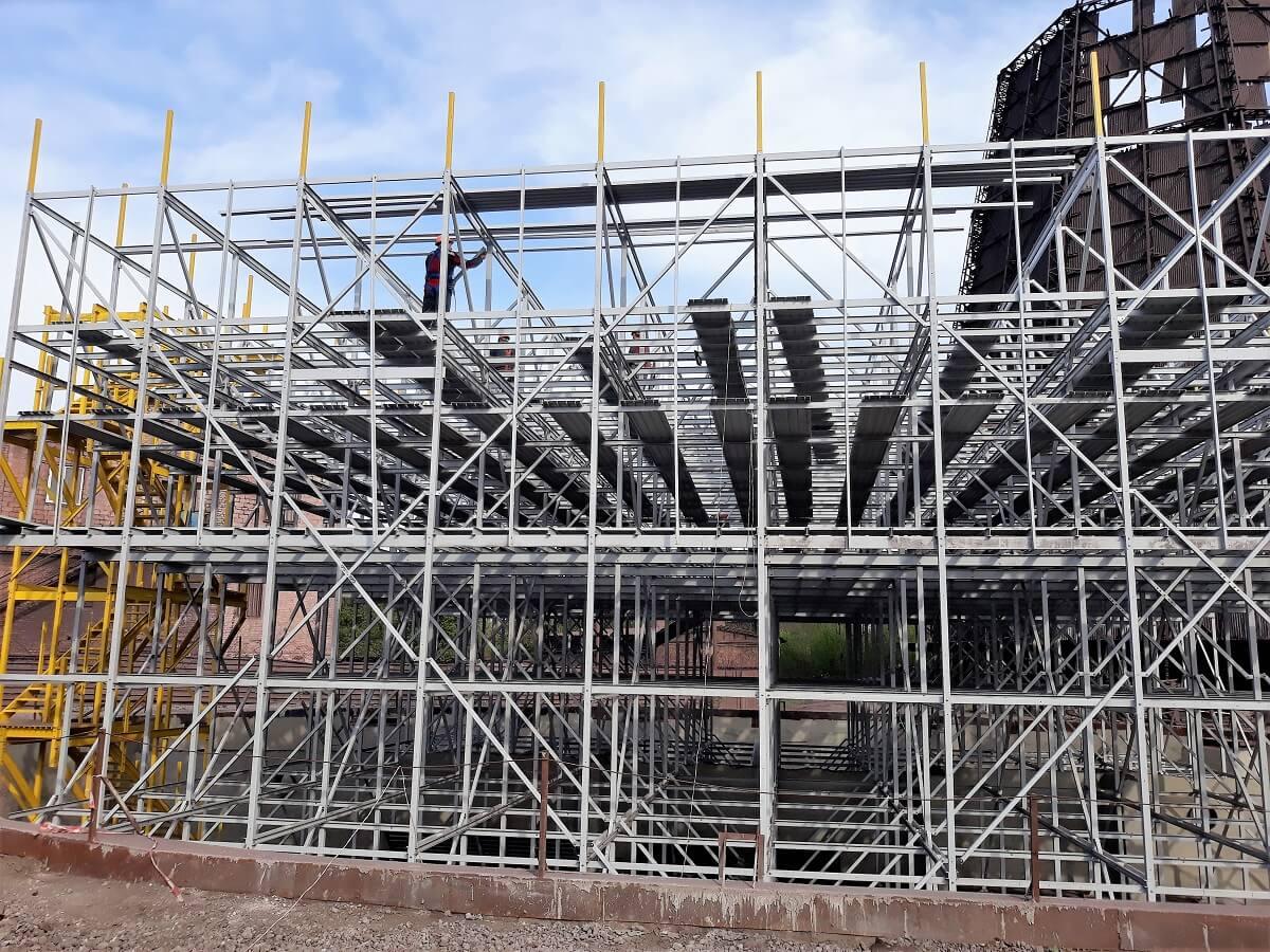 строительство градирни