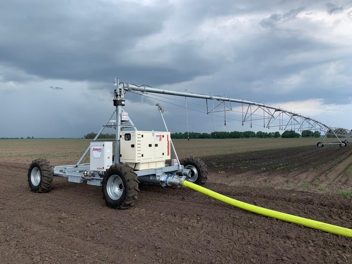 дизельная электростанция для системы орошения