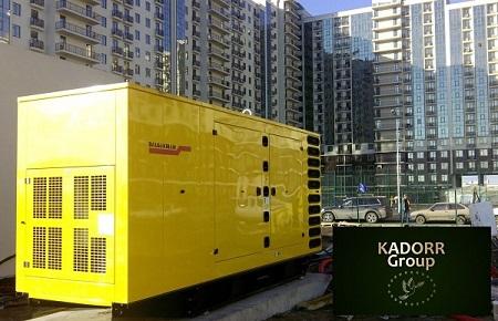 Резервные дизельные электростанции в элитных жилых комплексах KADORR Group