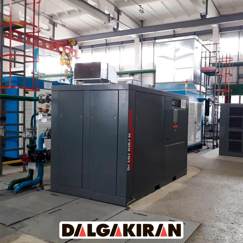 Компрессор Dalgakiran DVK220D W на Хмельницкой АЭС