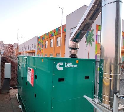 Дизельний генератор для резервного електроснабження дитячого саду в Одесі