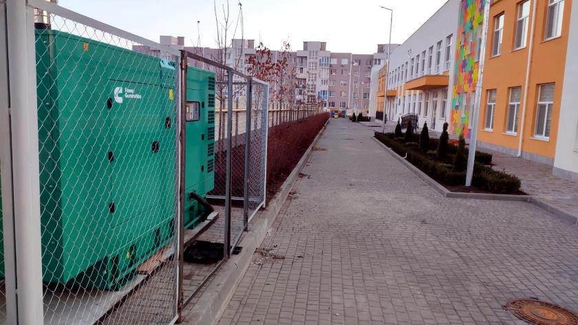 Дизельный генератор Cummins C170D5 для детского сада в Одессе