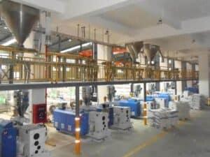 Системы централизованной подачи полимерного сырья к оборудованию
