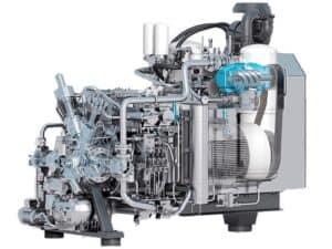 Багатоступінчасті компресори високого тиску з водяним охолодженням